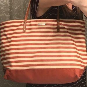 Rebecca Minkoff Canvas Tote Designer Bag OS